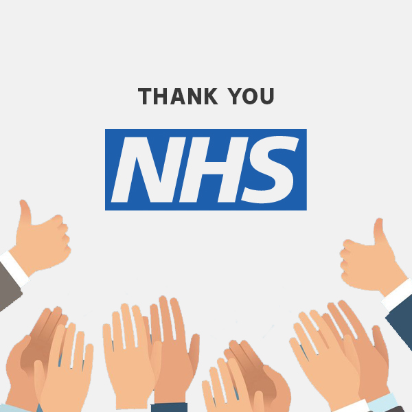 'Thank You' to NHS – Free Colourful Posters