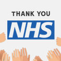 Post thumbnail of 'Thank You' to NHS – Free Colourful Posters