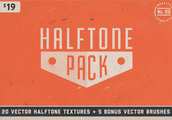 Halftone Texture Pack