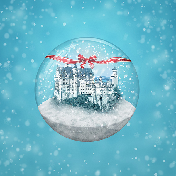 How to Create a Winter Snow Globe in Adobe Photoshop