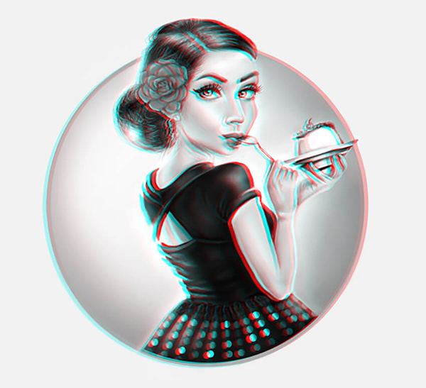 How to Create a 3D Anaglyph Effect in Photoshop