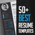 Post Thumbnail of 50+ Best CV Resume Templates 2020