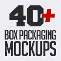 Post thumbnail of 40+ Free Box Packaging Mockups