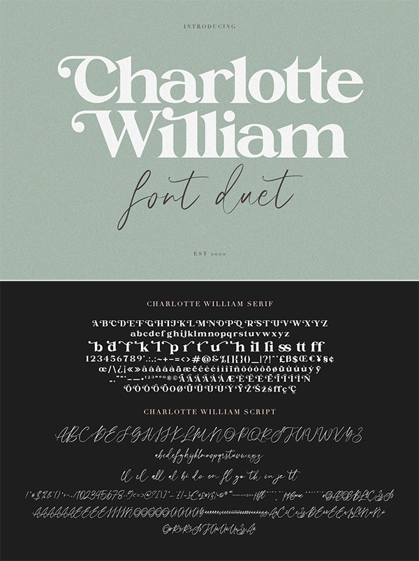 Charlotte William Font Duet