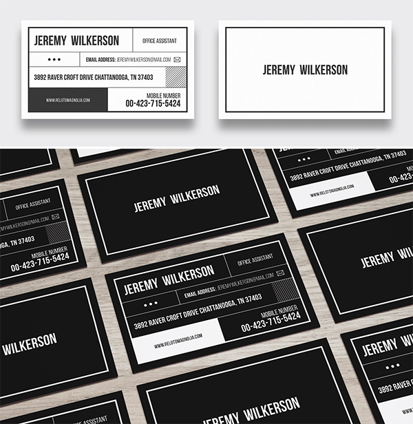 Modern Multipurpose Business Card Design