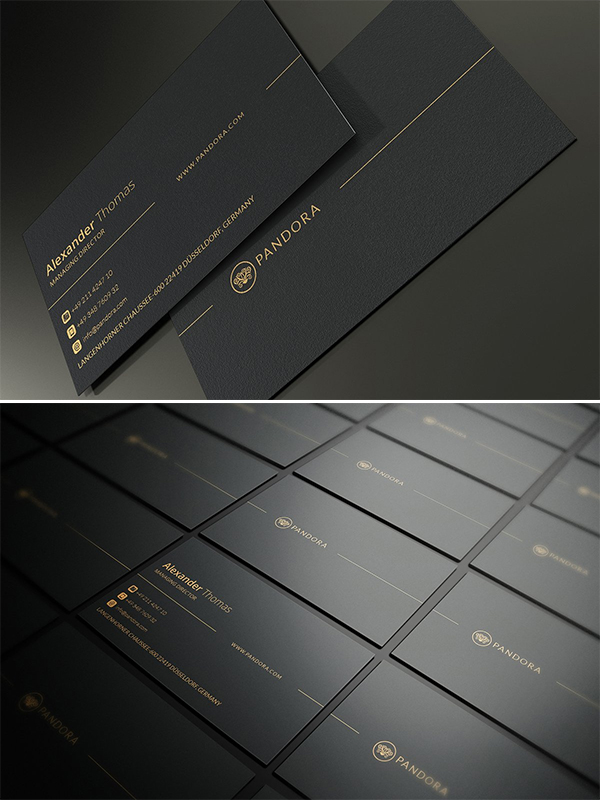 Premium Business Card Template Design