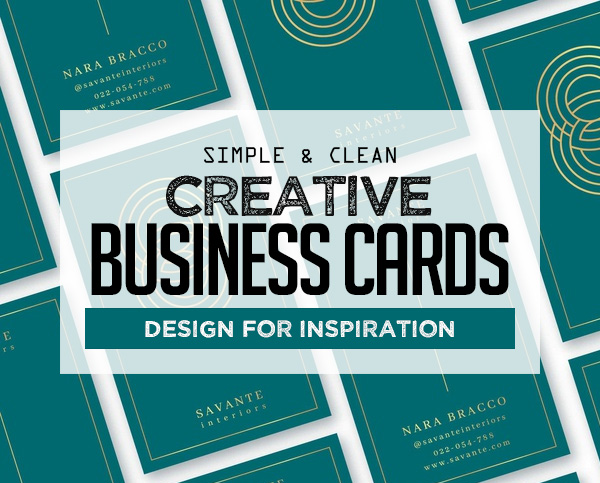 Creative Business Cards Templates (30 Print Ready Design)