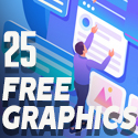 Post Thumbnail of 25 Fresh Free Graphics for Designers