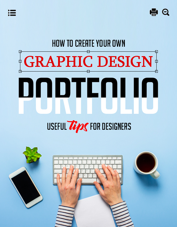 How To Create Your Own Graphic Design Portfolio