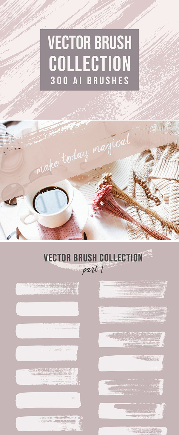 Vector Brushes Collection