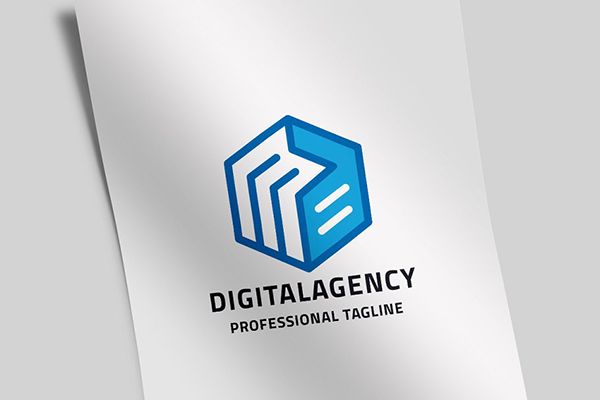 Digital Agency Letter D Logo