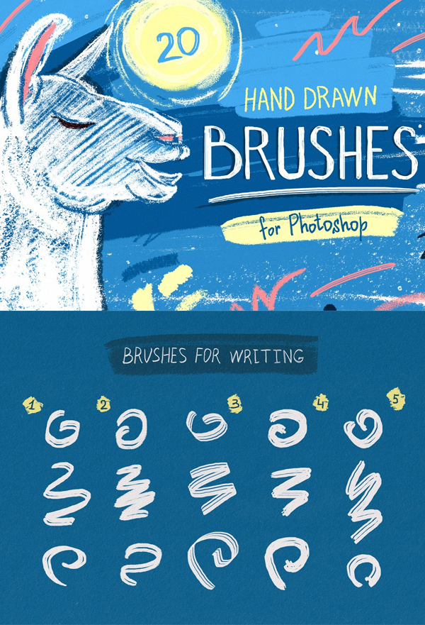 Essential Hand Drawn Brushes