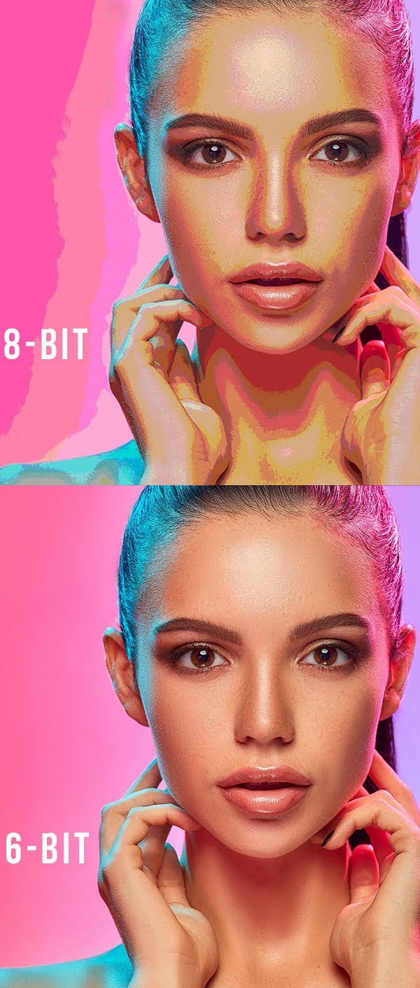 Learn what the difference between 8 Bit v/s 16 Bit - Photoshop Tutorial