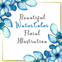 Post thumbnail of Beautiful Watercolor Floral Illustrations