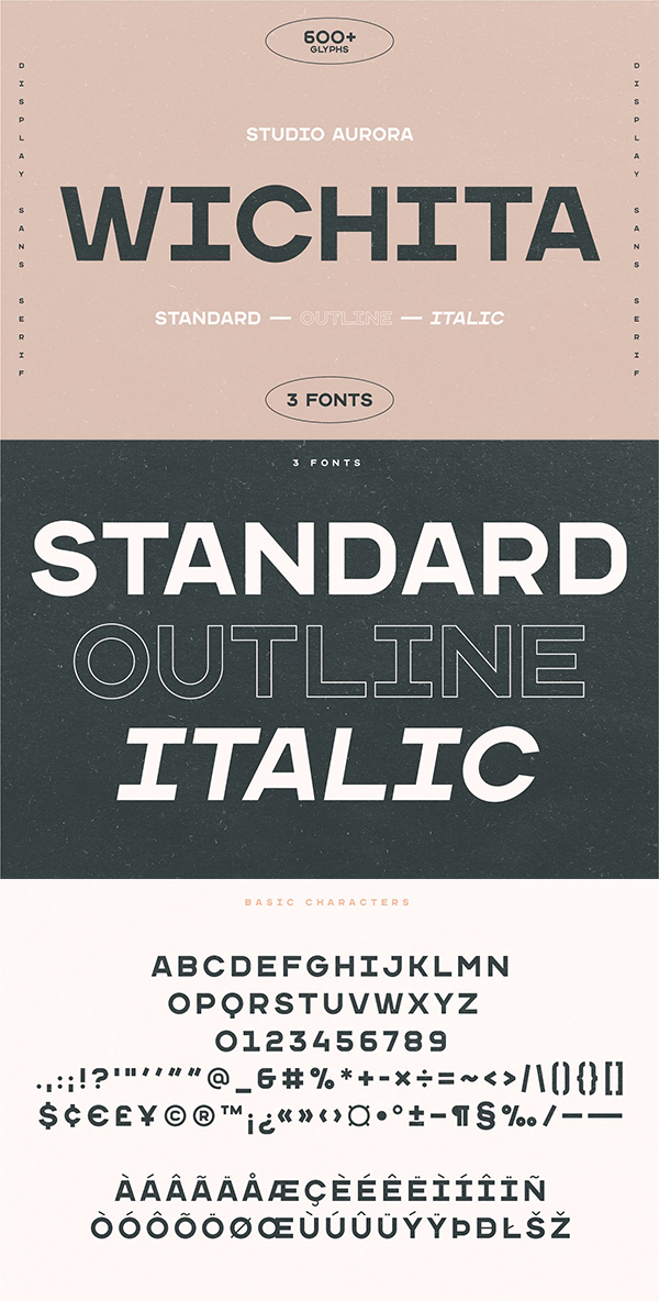 Wichita – Display Sans Serif Font