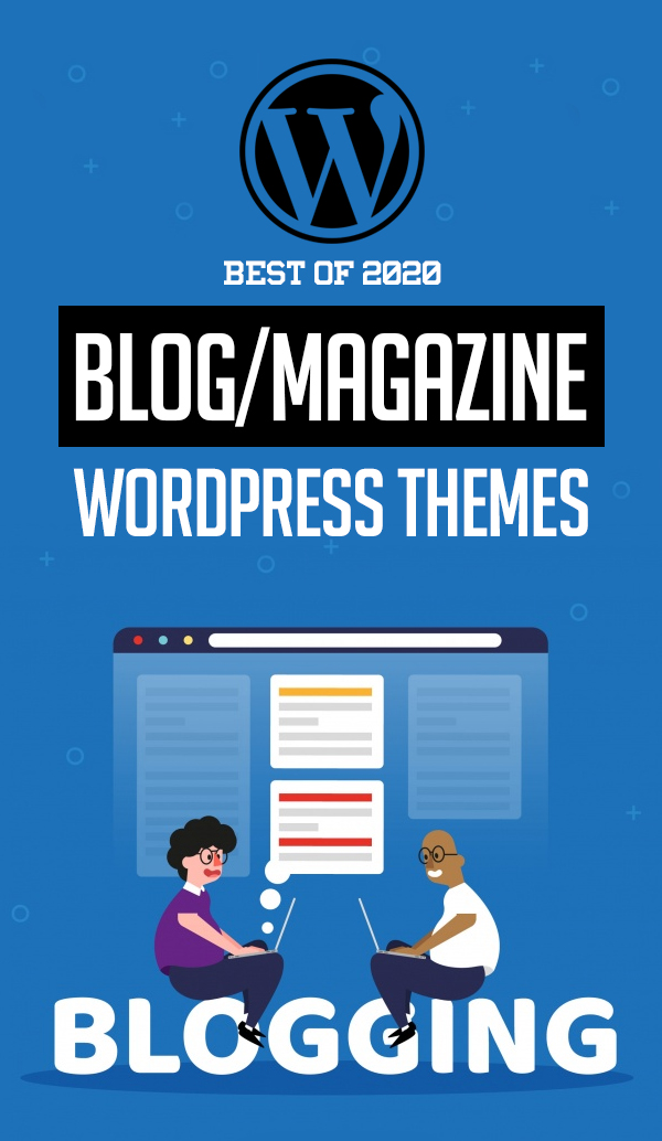 25 Best Blog Magazine WordPress Themes