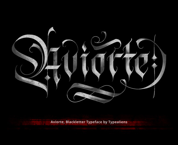Aviorte Blackletter