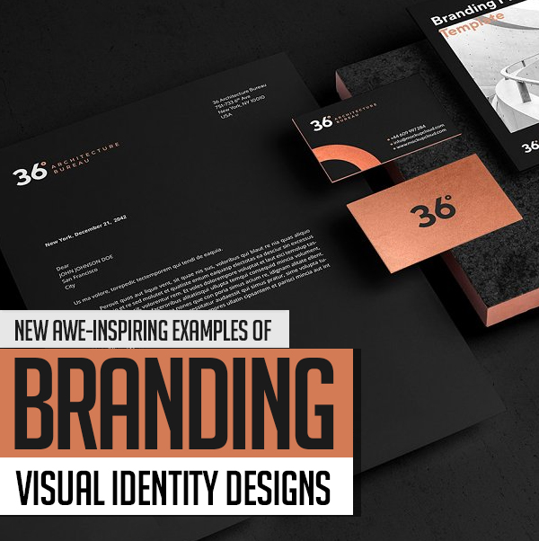 23 Professional Branding, Visual Identity and Logo Design Examples