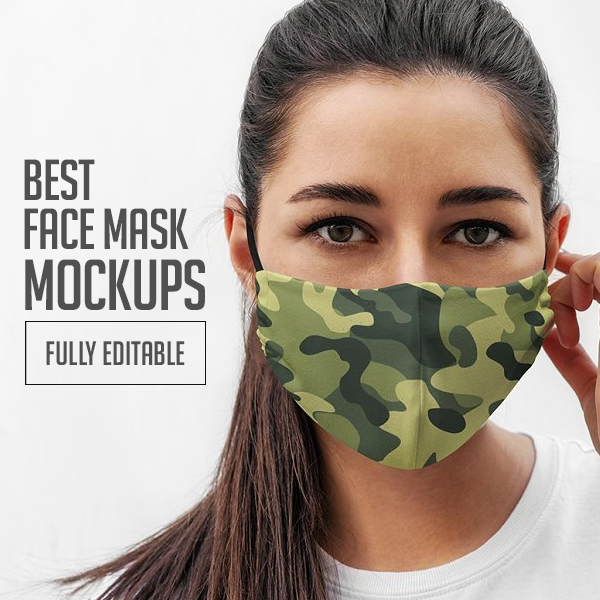 20+ Best Face Mask Mockups (PSD, Mockup Templates)