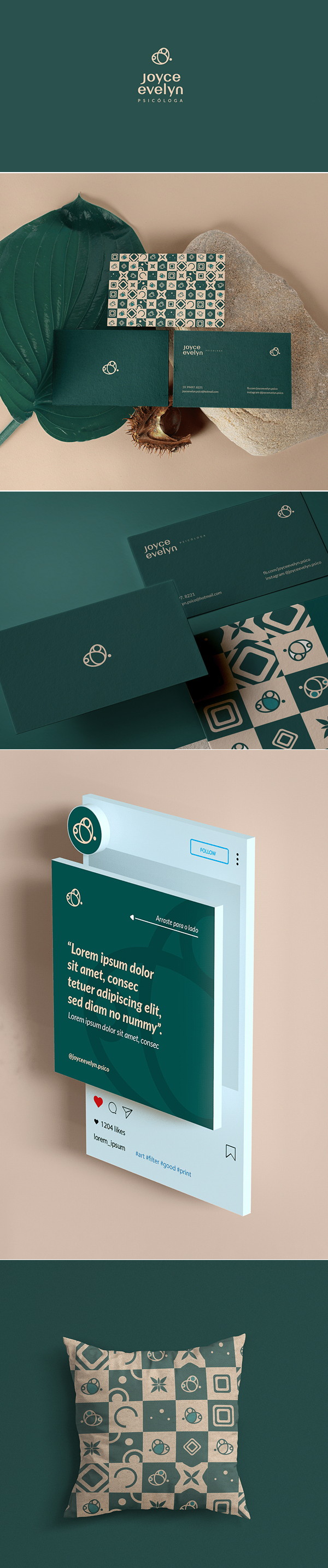 Joyce Evelyn Psychologist Visual Brand by Smoke Creative