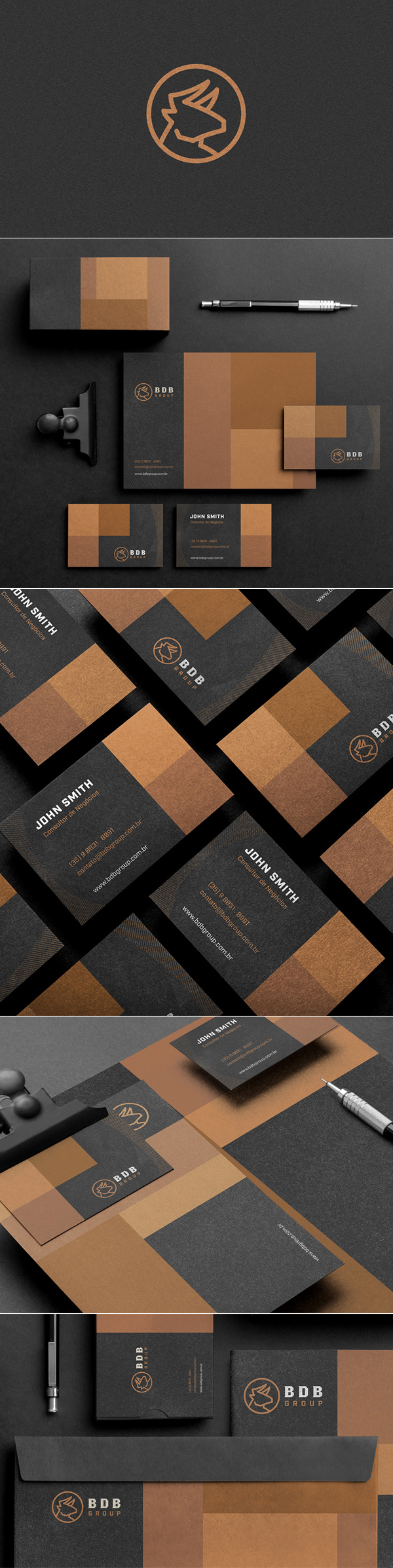 BDB Group Branding by David Silva