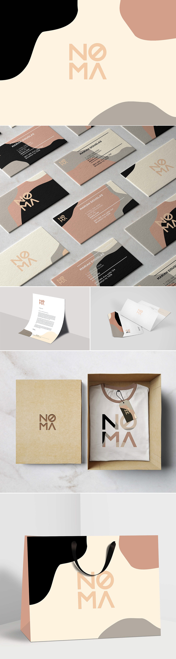 Noma Packaging Branding by Shane Wilson