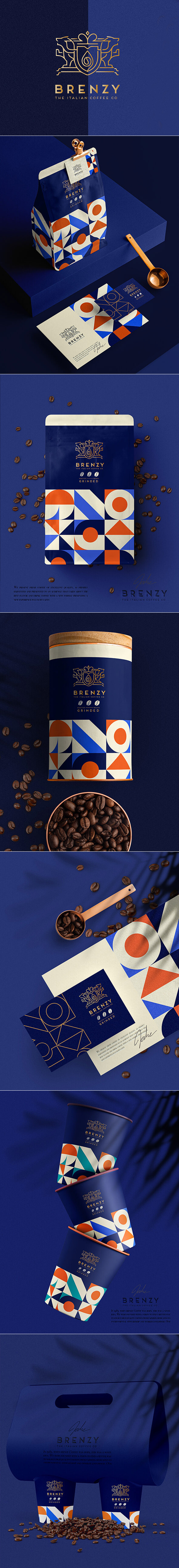 Brenzy Italian coffee UK Brand by MINA ESHAK