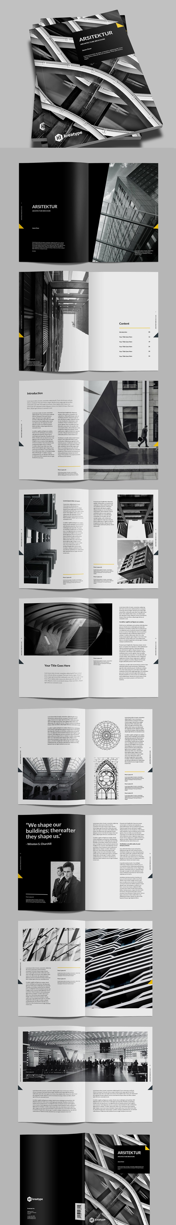 Multipurpose Brochure InDesign Template
