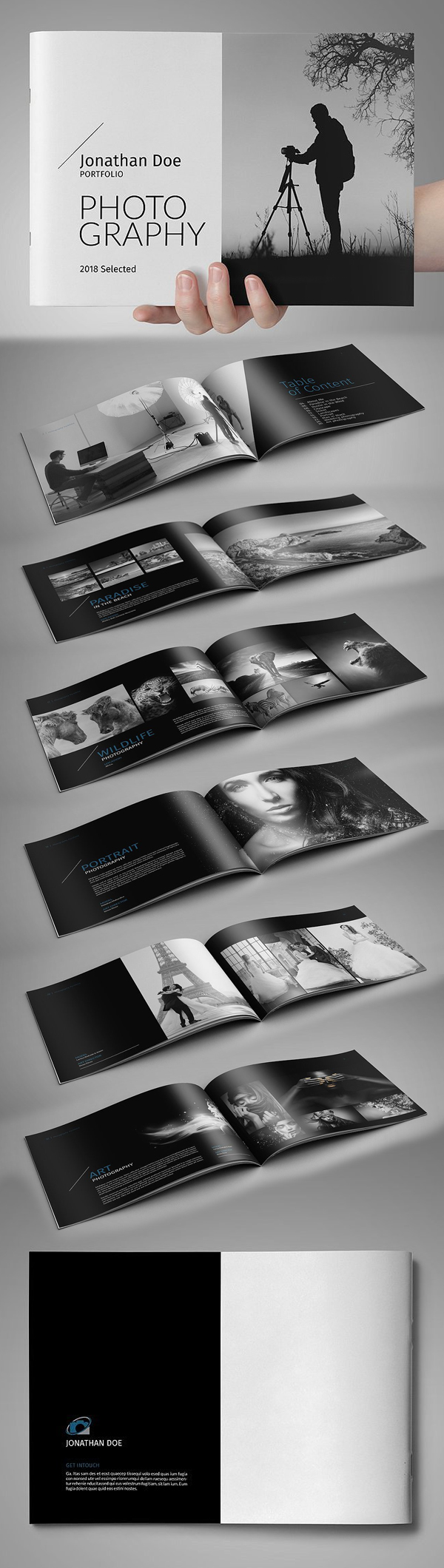 Beautiful Photobook Brochure Template