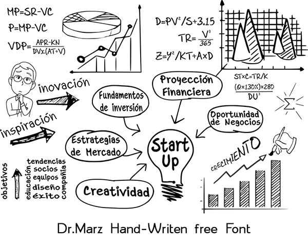 Dr.Marz Hand Writting Free Font