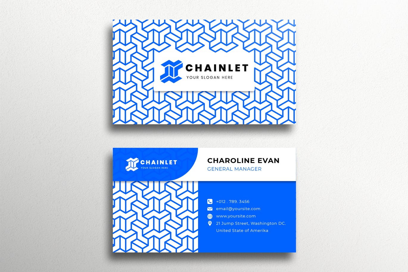 Chainlet Blue