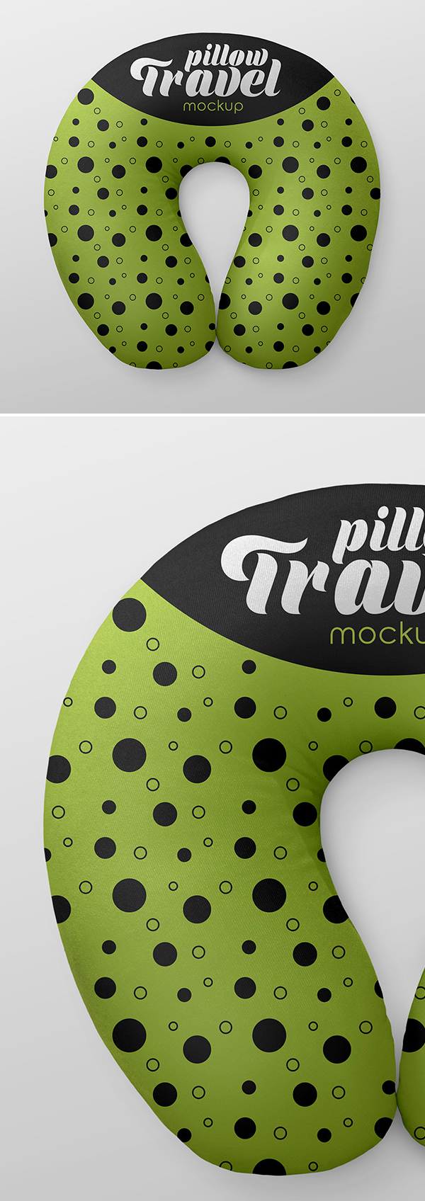 Free Travel Pillow Mockups
