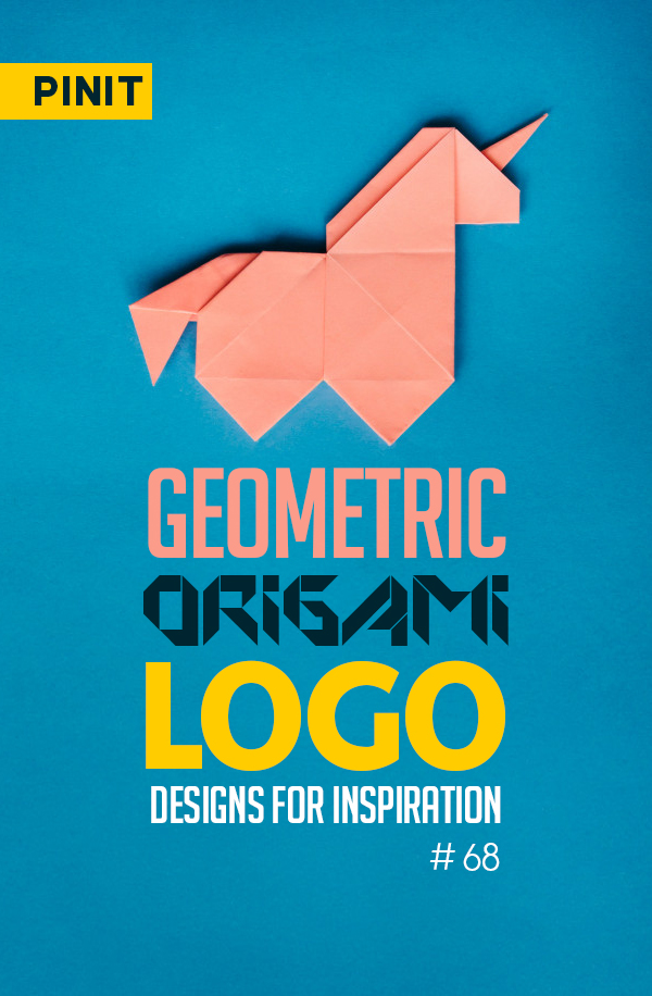 26 Amazing Geometric and Origami Logo Designs