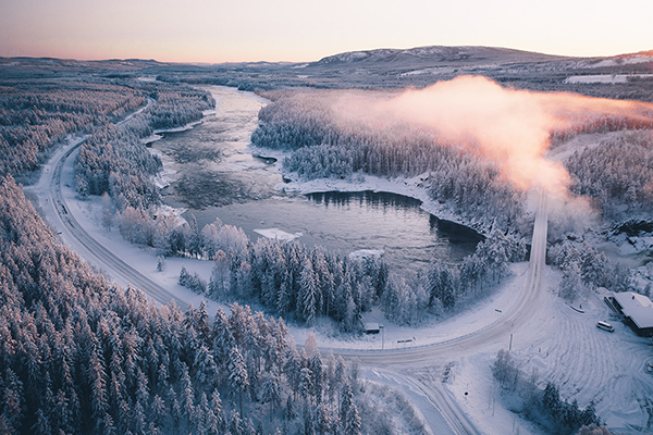 Sweden in Winter Photography by Tobias Hägg