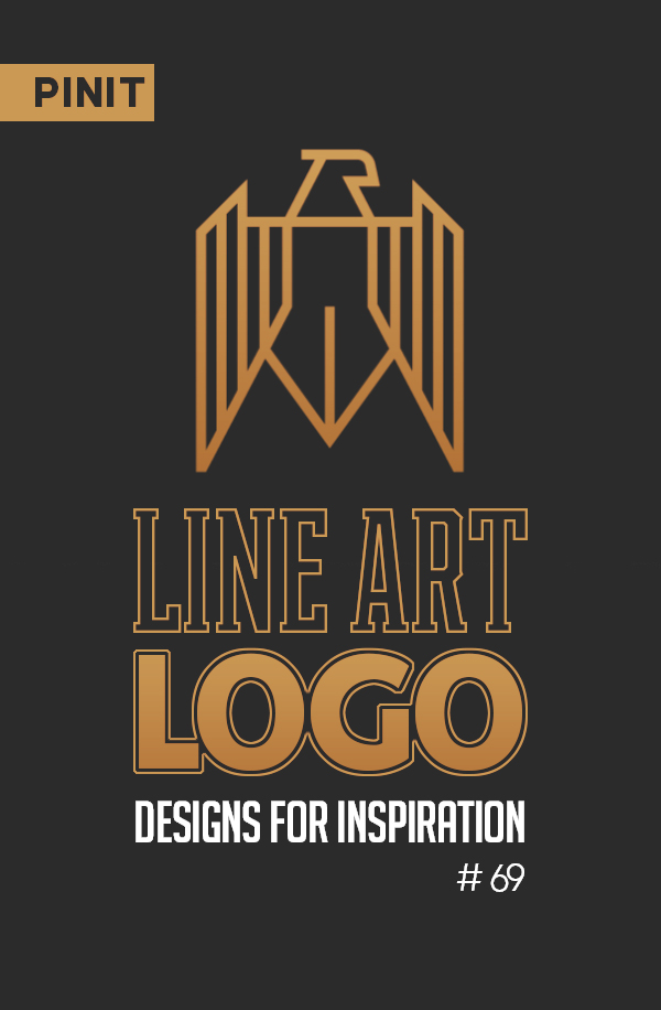 31 Creative Line Art Logo Designs for Inspiration