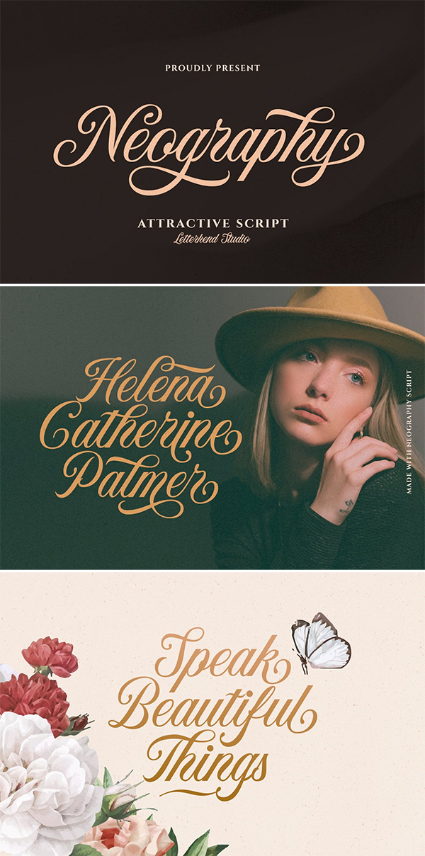Neography - Attractive Script Font
