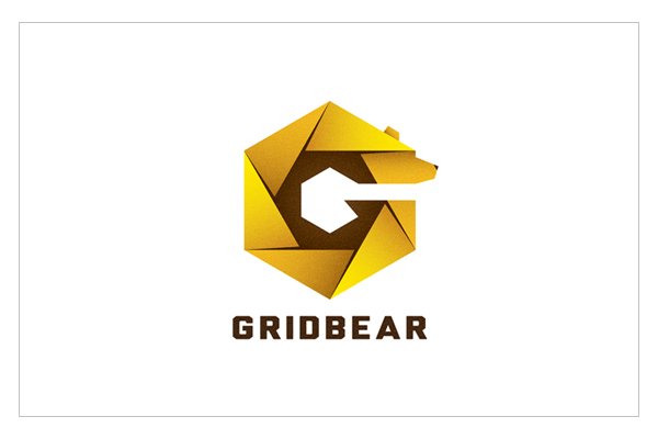 Grid Bear - Logo Design by Daru Sim
