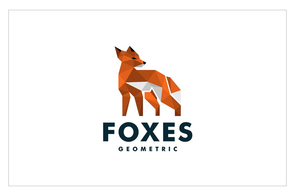 Fox Origami Logo Design
