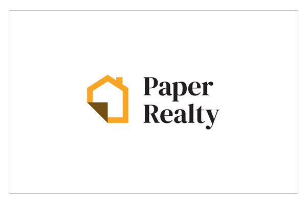 Paper Realty Branding & Logo by Jacob Cass