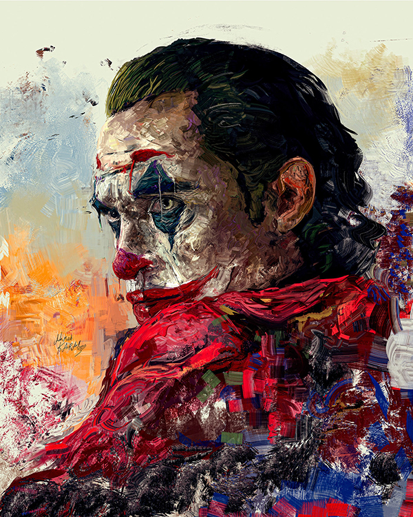 Ahmed Karam's Digital Portraits Painting Illustrtions- 11