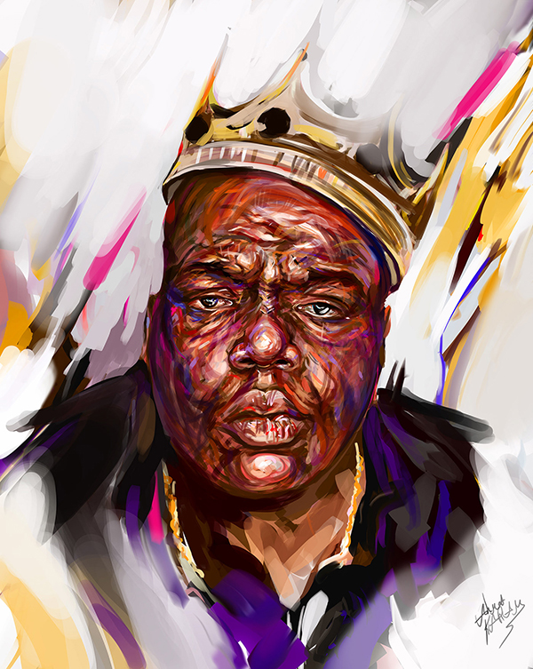 Ahmed Karam's Digital Portraits Painting Illustrtions- 18