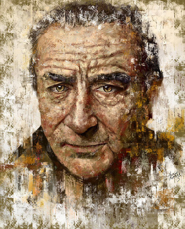 Ahmed Karam's Digital Portraits Painting Illustrtions- 2