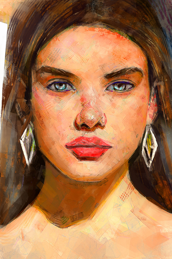 Ahmed Karam's Digital Portraits Painting Illustrtions- 9