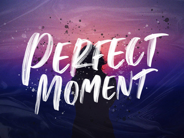 Perfect Moment Handwritten
