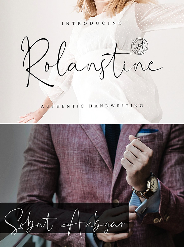 Rolanstine | Authentic Signature