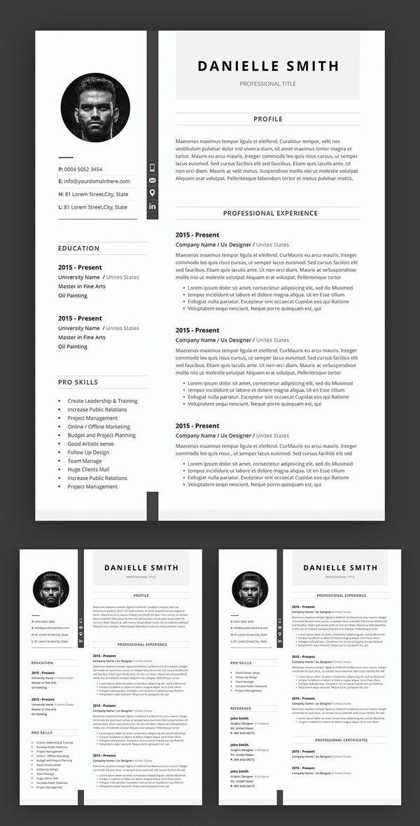 Awesome Creative Resume / CV