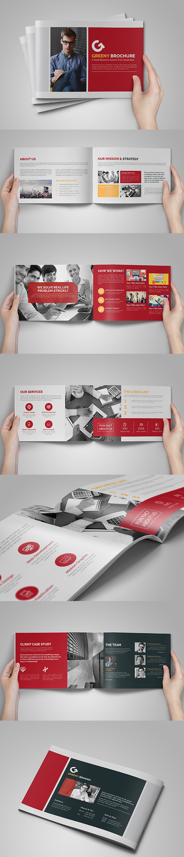 A5 Business Brochure/Catalog -Multipurpose Template