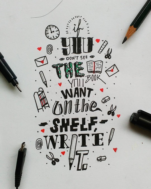 If you dont see, write it. .