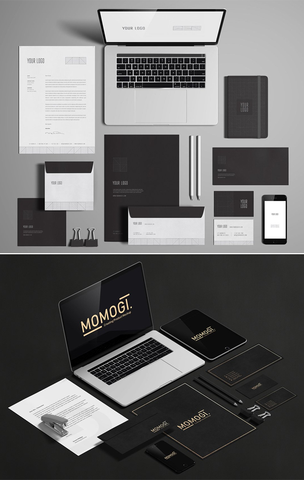 Best Stationery / Branding Mock-Up