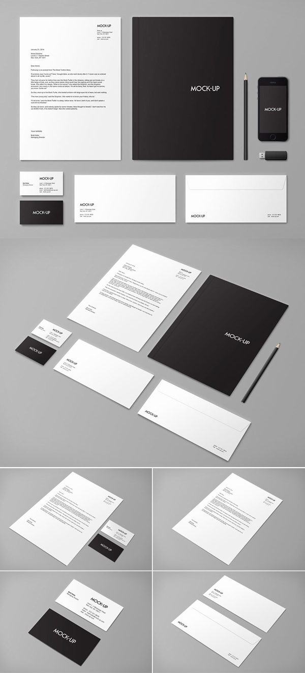 Stationery & Branding Mock-up